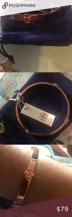 Tory Burch Rose Gold Bangle☀️✨☀️ Tory Burch Rose Gold Bangle bracelet Comes with pouch NWT -never Worn in circumference Tory Burch Jewelry Bracelets Mens Gold Jewelry, Jade Jewelry, Leather Jewelry, Women Jewelry, Bangle Bracelet, Jewelry Bracelets, Cartier Jewelry, Antique Jewelry, Southern Marsh