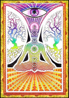 chakra art psychedelic