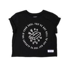Blasphemy Crop T-Shirt