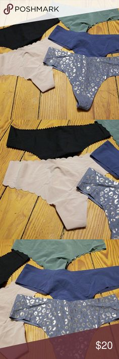 Victoria's Secret panty lot #5 New with tags. All size small. All thongs. Victoria's Secret panties. Victoria's Secret Intimates & Sleepwear Panties