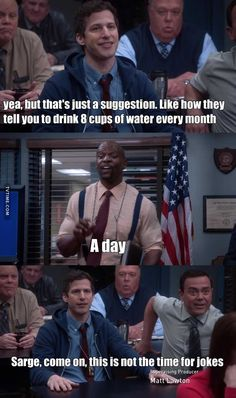 by darie about Brooklyn NineNine Season 05 Episode 20 Brooklyn Nine Nine Funny, Brooklyn 9 9, Parks N Rec, Comedy Show, Tv Quotes, Rookie Blue, Humor, Funny Relatable Memes, New Girl