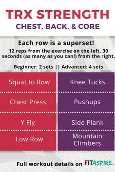 A superset workout y