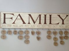 Distressed White Family Birthday/Anniversary by DunnRusticDesigns, $40.00