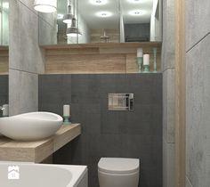 Sposób na małą łazienkę - Łazienka, styl skandynawski - zdjęcie od LUDWEE Pracownia Architektury Wnętrz