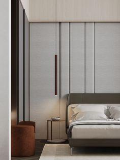 Bedroom #bedroom #modernbedroom #minimalisticbedroom #ideasforbedroom #minimalism #minimalisticarchitecture #minimalisticinterior #architecture #modernarchitecture #design #minimalisticdesign Minimalism, Divider, Bedroom, Furniture, Design, Home Decor, Decoration Home, Room Decor