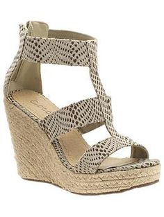 Love these shoes. Wedges are soo comfy