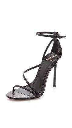 B Brian Atwood Labrea Asymmetrical Sandals | SHOPBOP