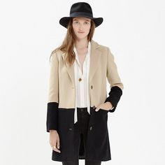 Colorblock Streetcar Coat $298 from Madewell