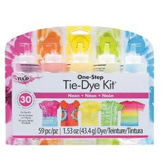 One-Step Dye Kit Perfect for Summer