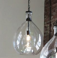 Our Oversized Glass Pendant Light will make a big bright splash. For more glass pendant lights visit Antique Farmhouse today! Kitchen Pendant Lighting, Kitchen Pendants, Glass Pendants, Island Pendants, Farmhouse Pendant Lighting, Rustic Light Fixtures, Rustic Lighting, Lighting Ideas, Entry Lighting