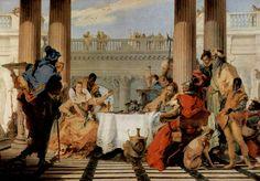 Giambattista Tiepolo - Il banchetto di Cleopatra