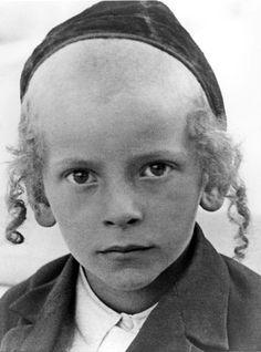 Krakow, Poland, A Jewish boy in the 1930s. Killed by Nazis