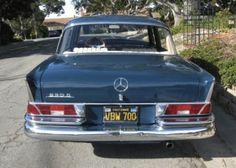 1968 Mercedes Benz 230S W111 Fintail