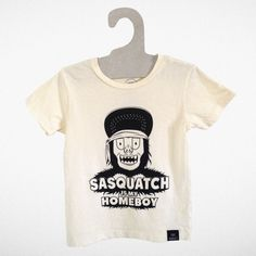"""""""Sasquatch is my Homeboy"""" Tiny Whales AW14 """"Dreamers Collection"""" Made in Sunny Los Angeles CA"""