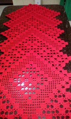 Caminho De Mesa Croche File