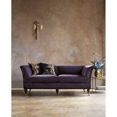 pompadour high back sofa in casaleone mohair amethyst beaumont fletcher