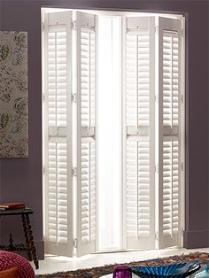 Sandringham Pure White Shutter Blinds from Blinds 2go