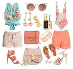 """""""Beach / pier day outfits"""" by fabulously-fab on Polyvore"""
