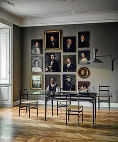 Ecce Home: Un enigma sulla parete