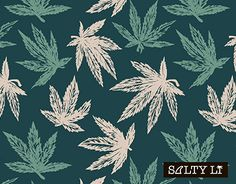"""Check out new work on my @Behance portfolio: """"Cannabis pattern"""" http://be.net/gallery/52735637/Cannabis-pattern"""