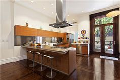 Townhouses for Sale in New York City, NY by Vandenberg Inc. #nyc #townhouse #kitchen #brownstone #interiordesign