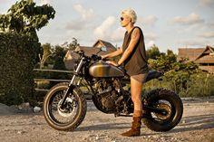Grease n Gasoline: Yamaha Scorpio Street Tracker