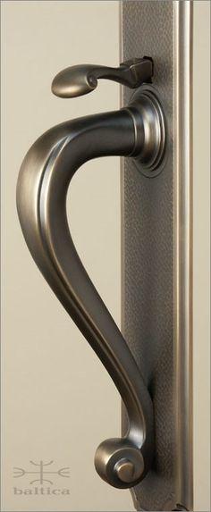 Riverwind thumblatch | antique bronze | Custom Door Hardware. www.baltica.com