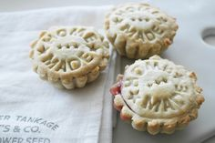 raspberry mini pies / twigg studios