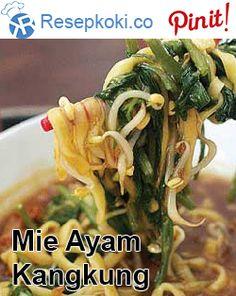 Mie Ayam Kangkung