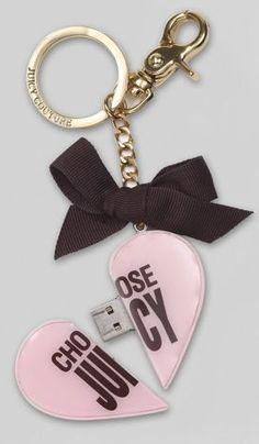 Juicy Couture USB Stick Keychain: Love It or Leave It? | POPSUGAR Tech