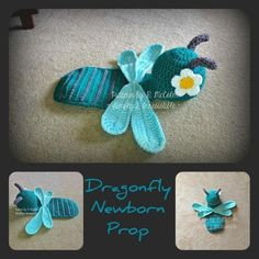 Dragonfly Newborn Costume | Craftsy
