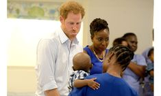 The prince showed off his cheeky side as he tried his best to make the children laugh. <br><br>Photo: PA