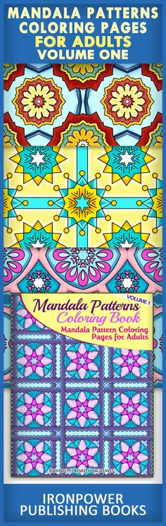 Mandala Patterns Coloring Pages For Adults