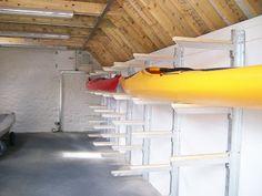 Garage Storage Idea For Kayaks