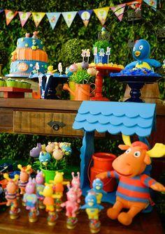 Backyardigans Party Dessert Table