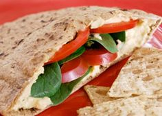 Cheese and Veggie Pitas - American Diabetes Association
