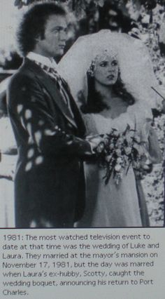 Luke & Laura, 1981 - #soaps - General Hospital