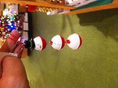 fishing bobber ornament idea