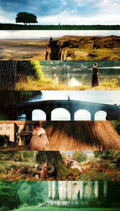 So beautiful locations