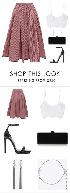 """Sin título #4757"" by mdmsb on Polyvore featuring moda, Tome, Miguelina, Yves Saint Laurent y Edie Parker"