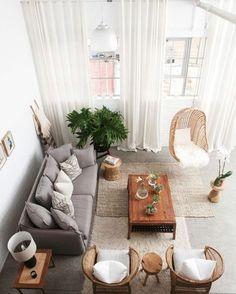 Obsessed with this living room. via @VISIMagazine #scandinavian #livingroom #simplicity #homedecor #interiors