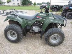 Kawasaki bayou 220, our quad just ours is blue :) | Outdoor stuff I