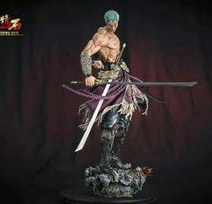 One Piece Theme, Sword Poses, Naruto, One Piece Figure, Anime Toys, Roronoa Zoro, Otaku, Figure Model, Sculpture Clay