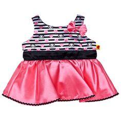 Build A Bear Kleidung Kleid Tüll Pailetten Teddys