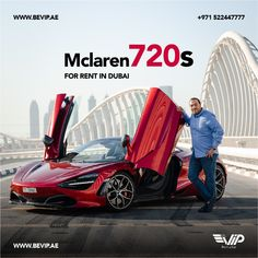McLaren the Undisputed King of Exotics !! Come and experience an sporty ride with Mclaren. Mclaren 720 for rent in Dubai 👉👉 Be VIP Rent a Car LLC 👈👈 Sports Car Rental, Luxury Car Rental, Luxury Cars, Mclaren F1, Rolls Royce, Exotic Cars, Bugatti, Super Cars, Vip