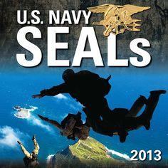 US Navy SEALs 2013 Wall Calendar