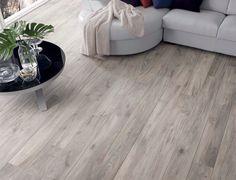 Powder - Natural porcelain tile from our Essenza, Wood Effect Tiles Tile Collection Living Room White, White Rooms, Living Room Modern, Wood Effect Floor Tiles, Wood Effect Porcelain Tiles, Modern Floor Tiles, Grey Wood Floors, Wood Tile Floors, Grey Flooring