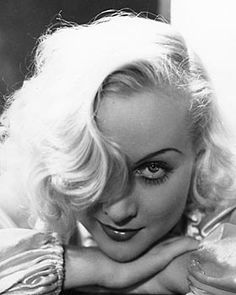 """Carole Lombard - Born Jane Alice Peters on Oct. 6, 1908 in Fort Wayne, Ind. Died Jan. 16, 1942 of plane crash in Las Vegas, NV, The lithe blond was glamorous, beautiful, smart as a whip and moved with ease from comedies to dramas on the silver screen. """" She was married to the reigning king of Hollywood, Clark Gable, and the two fondly referred to each other as Ma and Pa. Gable married two more times but never got over her death. He died 18 years later and was buried next to her."""