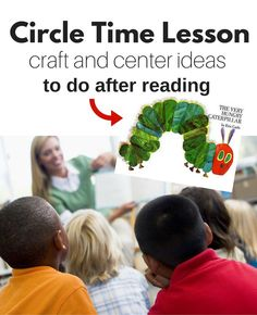 A great lesson plan for preschool! These The Very Hungry Caterpillar activities are perfect for your preschool classroom or homeschool.