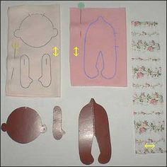 выкройки на ткани